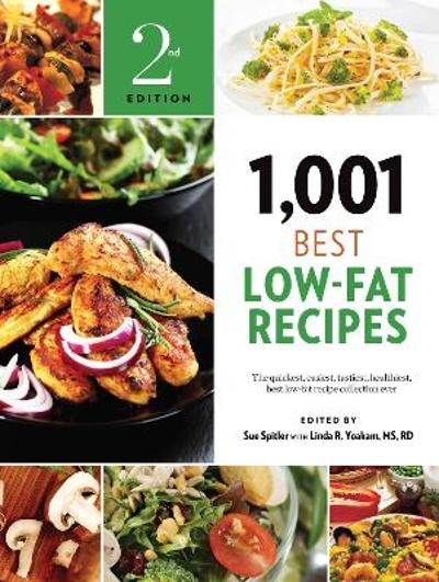 1,001 Best Low-Fat Recipes - Sue Spitler