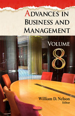Advances in Business and Management - William D. Nelson