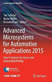 Advanced Microsystems for Automotive Applications 2015 - Gereon Meyer Beate Muller Tim Schulze