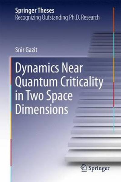 Dynamics Near Quantum Criticality in Two Space Dimensions - Snir Gazit
