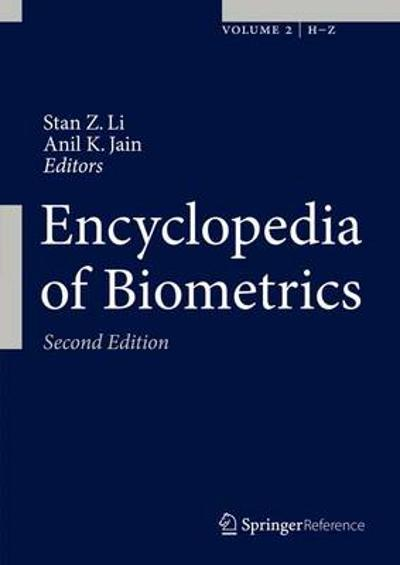 Encyclopedia of Biometrics - Stan Z. Li