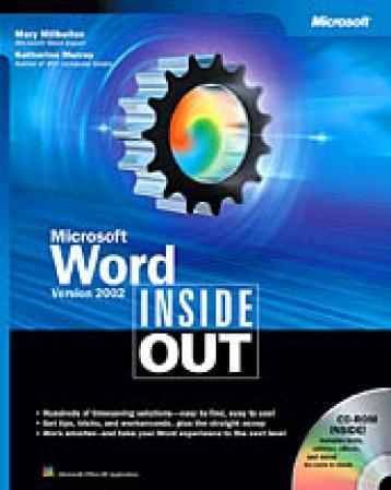 Microsoft Word Version 2002 Inside Out - Mary Millhollon