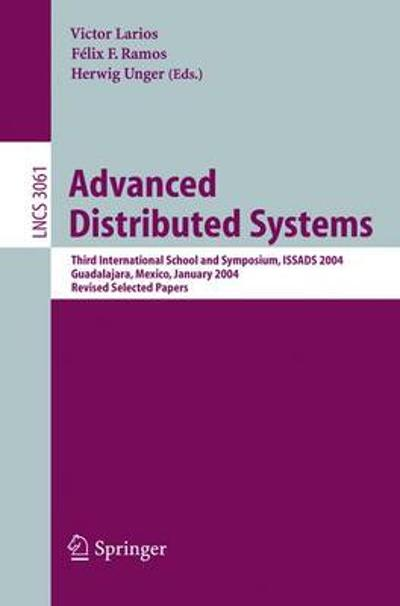 Advanced Distributed Systems - Felix F. Ramos