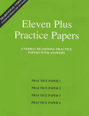 Eleven Plus Practice Papers 1 to 4 - AFN Publishing