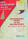 New Hampshire Atlas and Gazetteer - Delorme Mapping Company