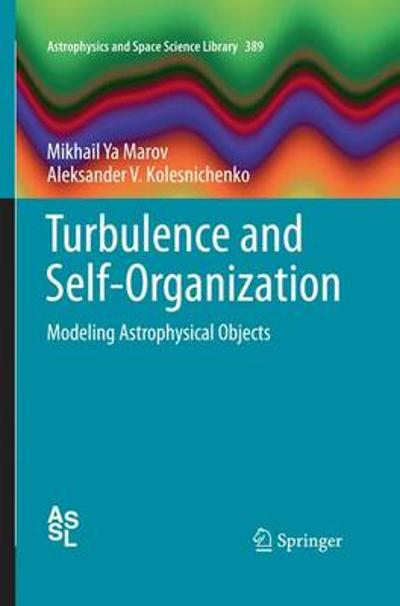 Turbulence and Self-Organization - Mikhail Ya Marov