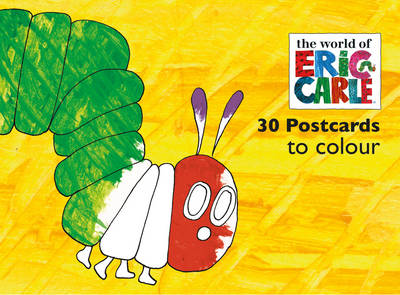 The Very Hungry Caterpillar Postcards to Colour - Eric Carle