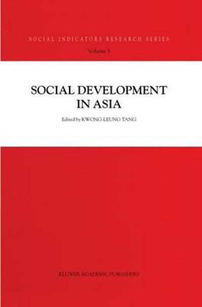 Social Development in Asia - Kwong-Leung Tang