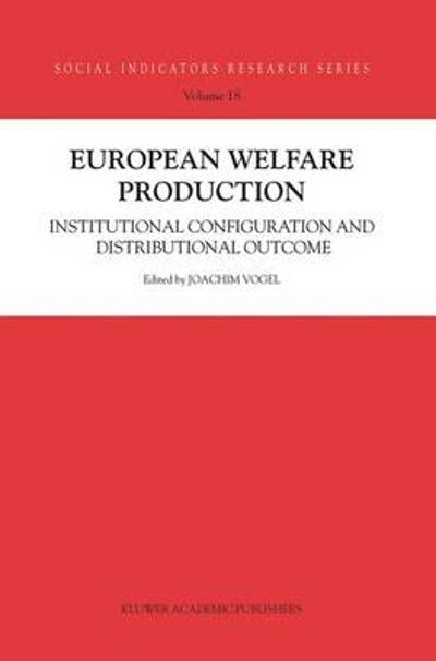 European Welfare Production - Joachim Vogel