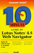 10 Minute Guide to Internotes Web Navigator - C. Calabria
