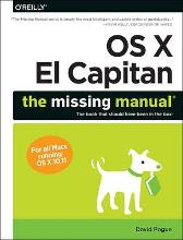 OS X El Capitan: The Missing Manual - David Pogue