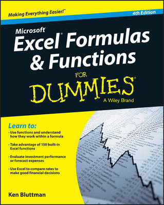 Excel Formulas & Functions For Dummies - Ken Bluttman