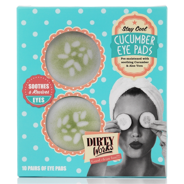 Stay Cool Cucumber Eye Pads - Dirty Works
