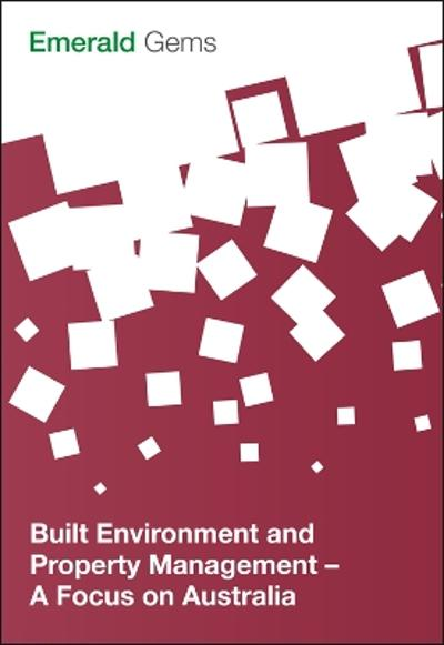 Built Environment and Property Management - Emerald Group Publishing Limited