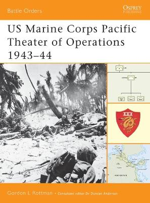 US Marine Corps Pacific Theater of Operations - Gordon L. Rottman