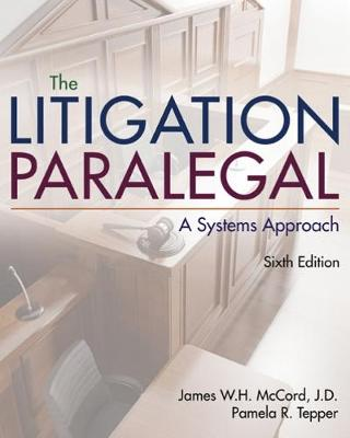 The Litigation Paralegal - Pamela Tepper