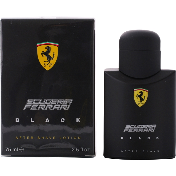 Scuderia Ferrari Black - After Shave Lotion - Ferrari