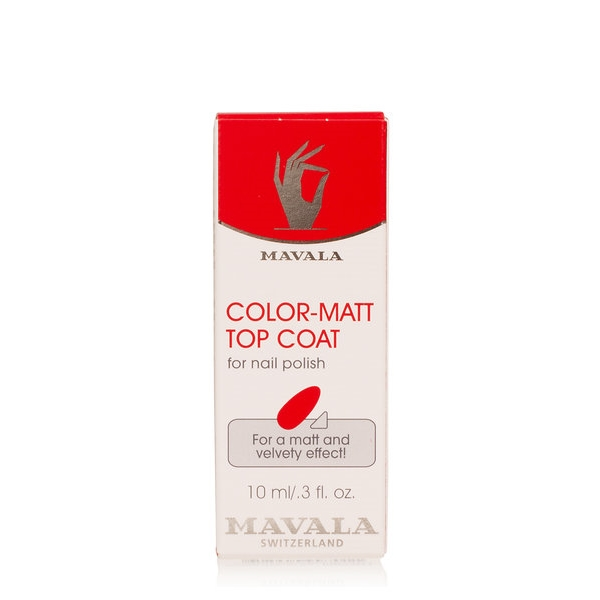 Color Matt Top Coat - Mavala