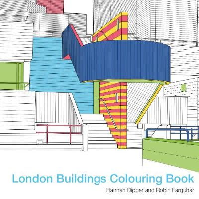 London Buildings Colouring Book - Robin Farquhar