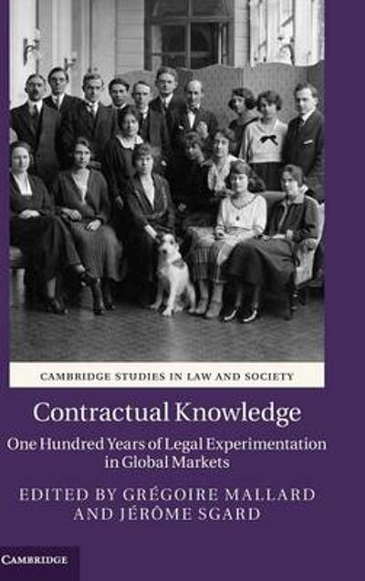 Contractual Knowledge - Gregoire Mallard