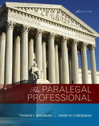 The Paralegal Professional - Thomas F. Goldman