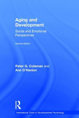 Aging and Development - Peter G. Coleman