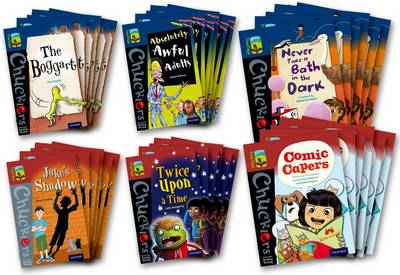 Oxford Reading Tree TreeTops Chucklers: Oxford Levels 14-15: Pack of 36 - Jeremy Strong