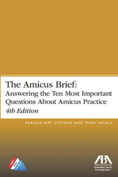 The Amicus Brief - Reagan W. Simpson