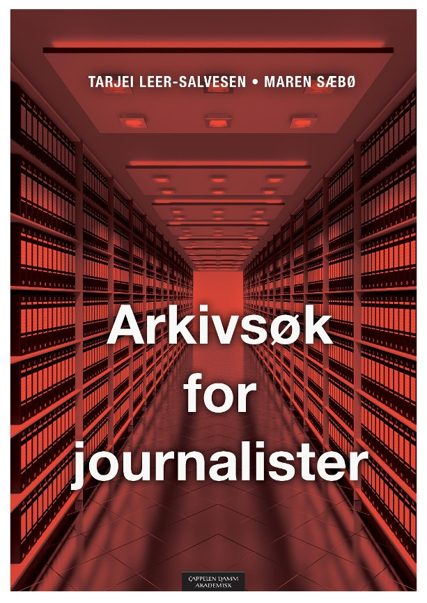 Arkivsøk for journalister - Tarjei Leer-Salvesen