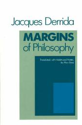 Margins of Philosophy - Jacques Derrida Alan Bass