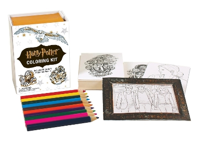 Harry Potter Coloring Kit - Running Press