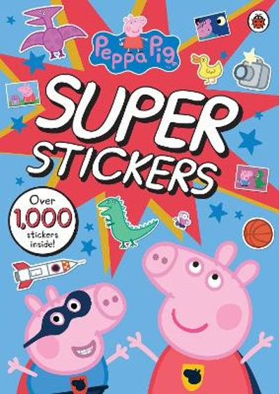 Peppa Pig Super Stickers Activity Book - Peppa Pig