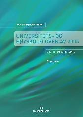 Universitets- og høyskoleloven - Jan Fridthjof Bernt