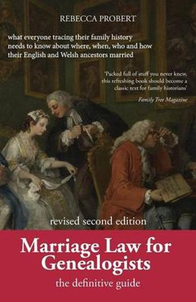 Marriage Law for Genealogists -