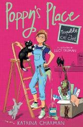 Trouble at the Cat Cafe - Katrina Charman Lucy Truman