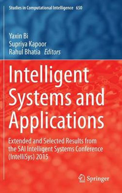 Intelligent Systems and Applications - Yaxin Bi