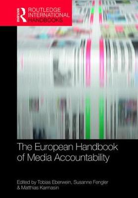 The European Handbook of Media Accountability - Susanne Fengler