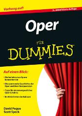 Oper fur Dummies - David Pogue Scott Speck