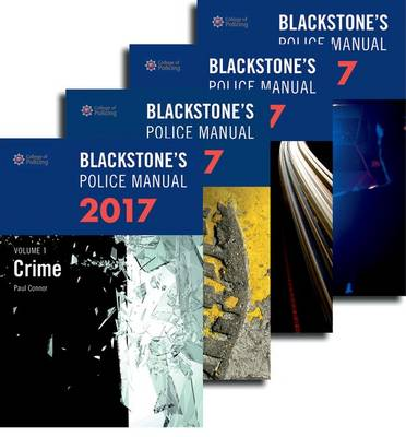 Blackstone's Police Manuals 2017: Four Volume Set - Paul Connor