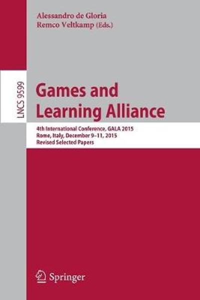 Games and Learning Alliance - Alessandro de Gloria