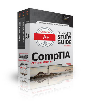 CompTIA Complete Study Guide 3 Book Set, Updated for New A+ Exams - Quentin Docter