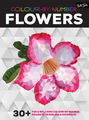 Colour-By-Number: Flowers -