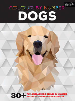 Colour-By-Number: Dogs -