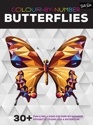 Colour-By-Number: Butterflies -