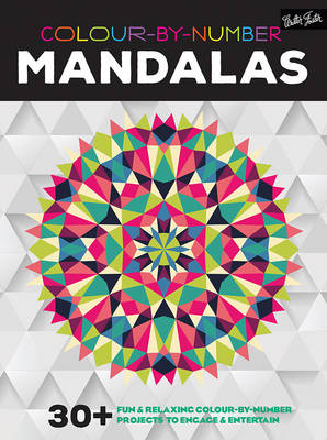 Colour-By-Number: Mandalas -