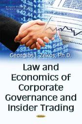 Law & Economics of Corporate Governance & Insider Trading - Georgios I Zekos