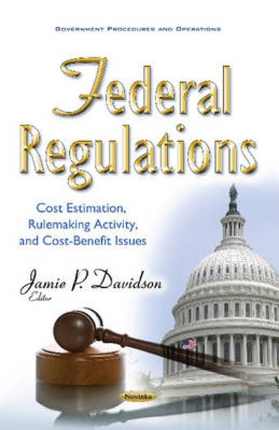 Federal Regulations - Jamie P. Davidson