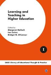 Learning and Teaching in Higher Education - Margaret Malloch Len Cairns Bridget N. O'Connor