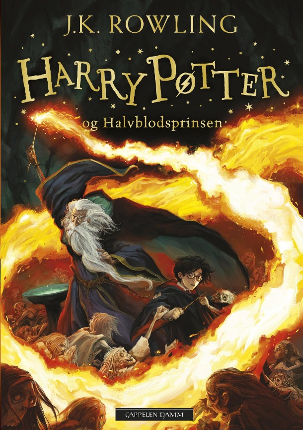 Harry Potter og Halvblodsprinsen - J.K. Rowling