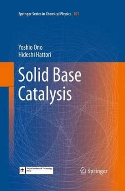 Solid Base Catalysis - Yoshio Ono